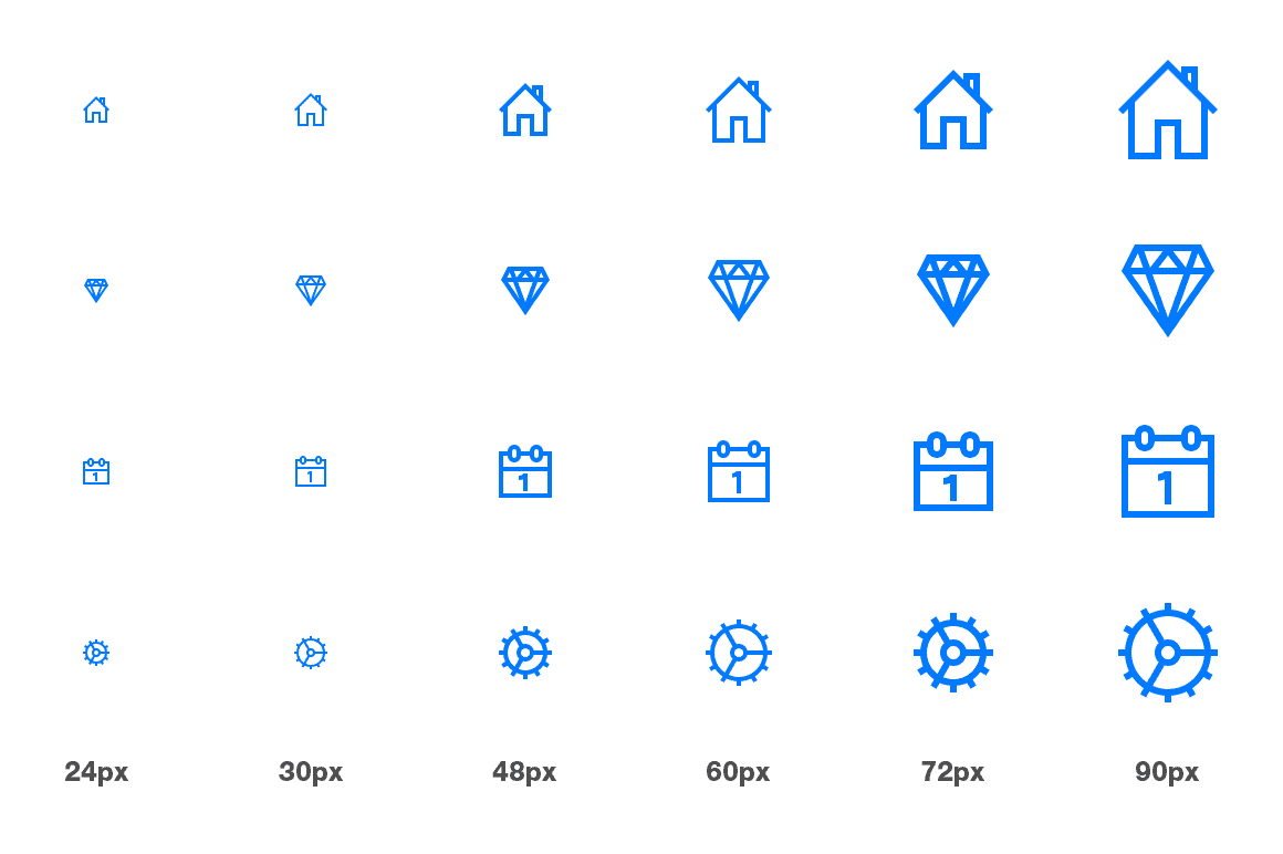 Lightly Icons: iOS icons inspired by Helvetica Neue